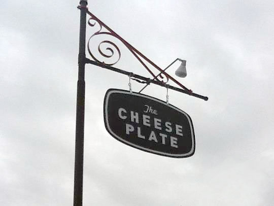CheesePlate-outdoorsign