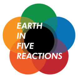 Earth in Five Reactions Logo