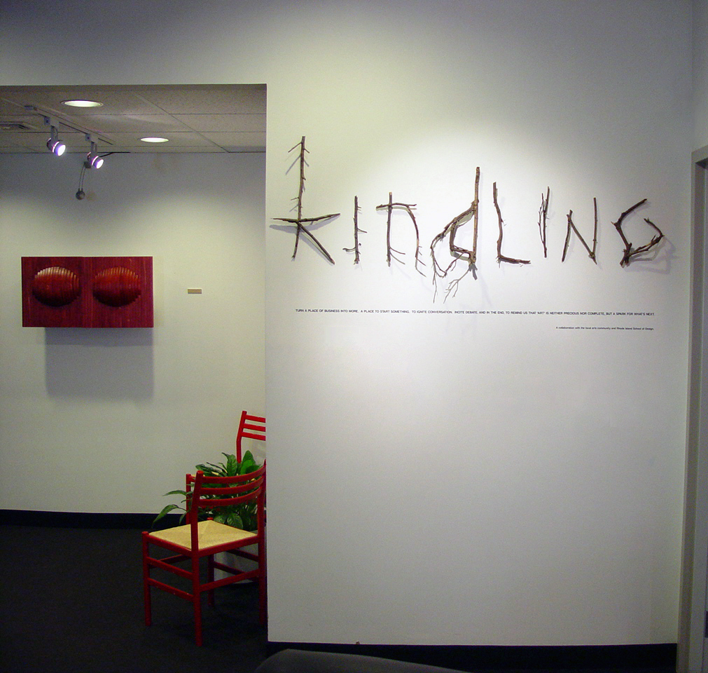 Kindling Gallery Sign