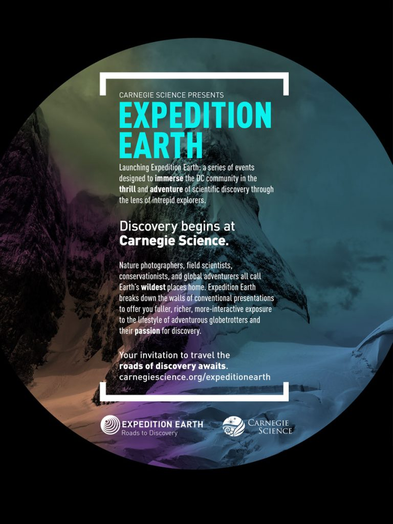 Expedition Earth Lecture Series Poster